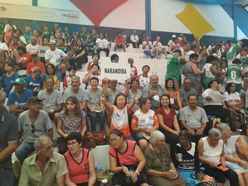 Narandiba participa dos Jogos Regionais do Idoso – JORI 2017 na