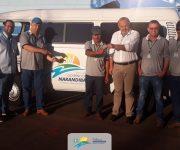 Com recursos próprios Narandiba adquire veículo para a saúde