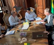 Prefeito Itamar vai à São Paulo em busca de recursos para Narandiba.